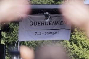 Protest in Stuttgart: Große Mehrheit lehnt Demos gegen Corona-Maßnahmen ab