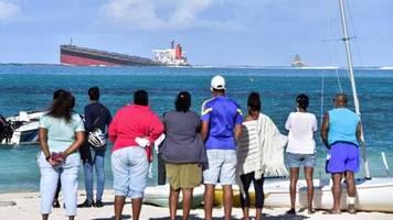 News von heute : Öltanker auf Grund gelaufen: Mauritius ruft den Umweltnotstand aus
