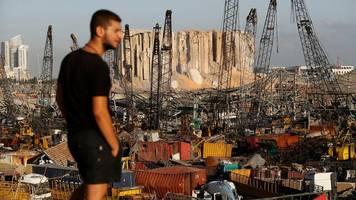 Libanon: Führende Hafen-Vertreter nach Explosion in Beirut festgenommen