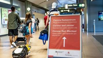 behörde: corona-tests am flughafen problemlos angelaufen
