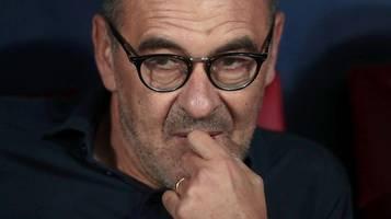Juventus Turin schmeißt Trainer Mauricio Sarri raus