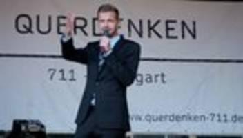 florian schroeder: kabarettist wird bei querdenken-demo ausgebuht