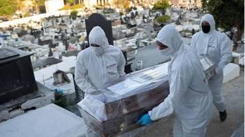 News zum Coronavirus: Mehr als 100.000 Corona-Tote in Brasilien