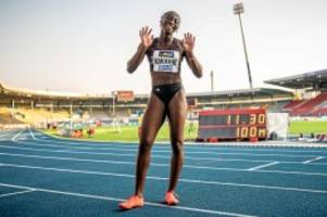 leichtathletik: lisa-marie kwayie ist deutschlands neue sprint-königin