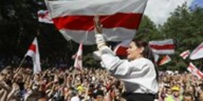 präsidentschaftswahl in belarus: festnahmen und generalstreik