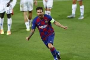 Champions League: Messi bekommt Tritt - Trainer: kein Problem für Bayern-Spiel