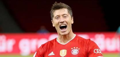 Lewandowski jagt jetzt den magischen Rekord von Ronaldo