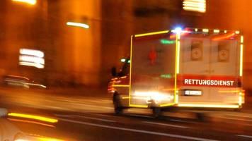 Fünf Menschen bei Frontalzusammenstoß verletzt