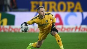 SC Freiburg verlängert mit Torhüter Mark Flekken