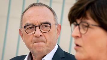 spd-chef: walter-borjans schließt koalition mit linkspartei nicht aus