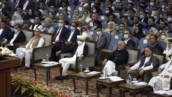loja dschirga in afghanistan: ratsversammlung in kabul empfiehlt freilassung von taliban