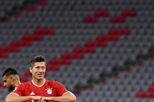 Lewandowski überholt Benzema - Ronaldo führt vor Messi