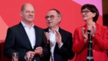 SPD: Livestream: Olaf Scholz spricht über seine Kanzlerkandidatur