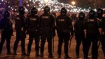 Präsidentschaftswahl: Bundesregierung verurteilt Gewalt gegen Demonstranten in Belarus
