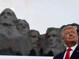 Denkmal für große US-Präsidenten: Trump liebäugelt mit dem Mount Rushmore