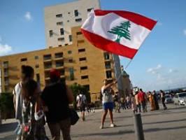 druck von innen und außen: libanons regierung kündigt rücktritt an