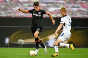 europa league: leverkusen braucht gegen inter einen havertz in bestform