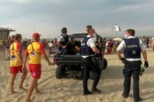 Vorfall: Belgien: Massenschlägerei am Strand – Polizisten angegriffen