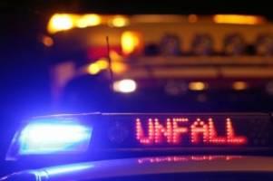 Kreis Segeberg: Mehrere Schwerverletzte bei Unfällen am Wochenende