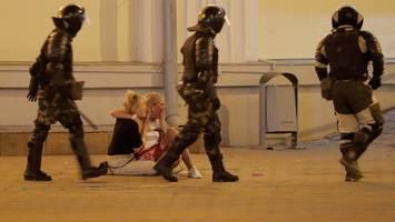 Nach Wahl in Belarus: Erneut Gewalt gegen Demonstranten – ein Toter