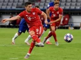Champions League: Lewandowski zieht die Lok