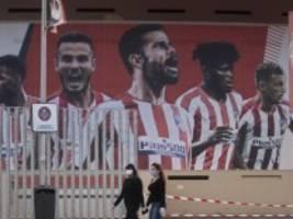 Champions League: Zwei Corona-Fälle bei Leipzig Gegner Atletico