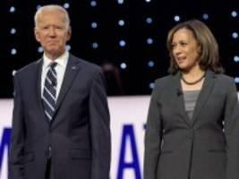Biden-Vizekandidatin Kamala Harris: Harris wird sich nicht von Trumps Attacken beeindrucken lassen