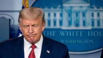 Bei Pressekonferenz: Trump vergleicht Corona und Spanische Grippe – und liegt mehrfach daneben