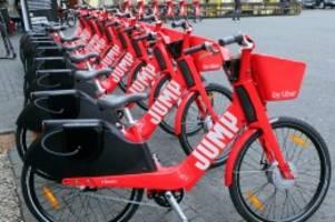 verkehr: jump-e-bikes sind zurück in berlin