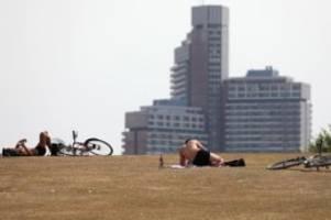 teils extreme wärmebelastung: heiß und gewittrig: deutschland schwitzt weiter