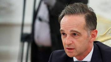 Außenminister-Treffen: Maas spricht in Russland kritische Themen an – dann reißt plötzlich die Übertragung ab