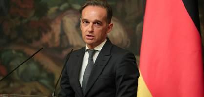 Außenminister Maas fordert die Aufklärung des Tiergarten-Mords