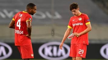 Europa League: Bayer Leverkusen wieder mit leeren Händen