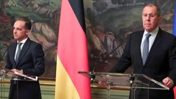 Heiko Maas zu Besuch in Moskau: Russland wirft Deutschland Hackerangriffe vor