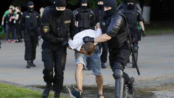 zweifel an wahl in belarus: tausende menschen bei protesten in belarus festgenommen