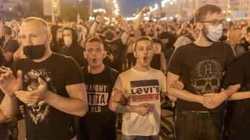 belarus: polizei geht wieder brutal gegen demonstranten vor