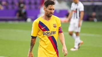 Sorge beim FC Barcelona: Lionel Messi trainiert vor Bayern-Duell mit Bandage