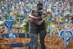 Hoffen auf den Impfstoff - 100.000 Corona-Tote: Aus Trotz stellen sich Brasilianer in den Dienst der Wissenschaft