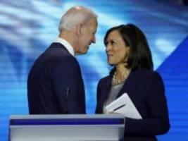Nachrichten zur US-Wahl: Biden will Kamala Harris als Vizepräsidentin