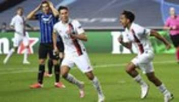 Champions League: Paris gewinnt im Viertelfinale in Lissabon gegen Bergamo