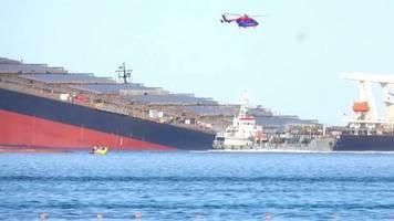 Video: Französische Marine hilft auf Mauritius