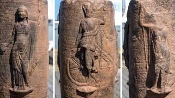 Rheinland: Römischer Brunnen mit Jupitersäule entdeckt – aber auch mit der seltenen Göttin der Rache