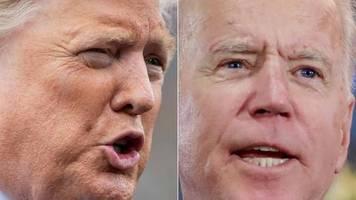 Wahlkampf: Trump twittert Video: Biden hat ein Rassismus-Problem