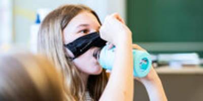 Rückkehr zum Schulbetrieb: NRW führt Maskenpause ein