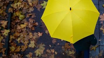 aussicht auf niederschläge,  ab freitag verbreitet regen