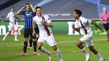 Champions League - Last-Minute-Sieg für Tuchel:PSG wirft Bergamo raus