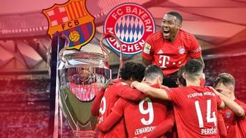 Champions League live: So sehen Sie FC Bayern gegen FC Barcelona im TV