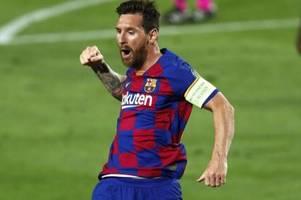 Die Abhängigkeit des FC Barcelona von Lionel Messi