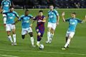 Champions-League-Viertelfinale - Messis Kampf gegen Barcas Verfall ist Chance und Risiko für Bayern