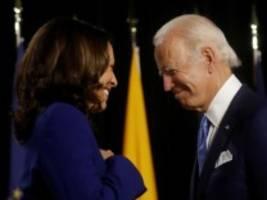 Demokraten im US-Wahlkampf: Harris ist jetzt eine Biden